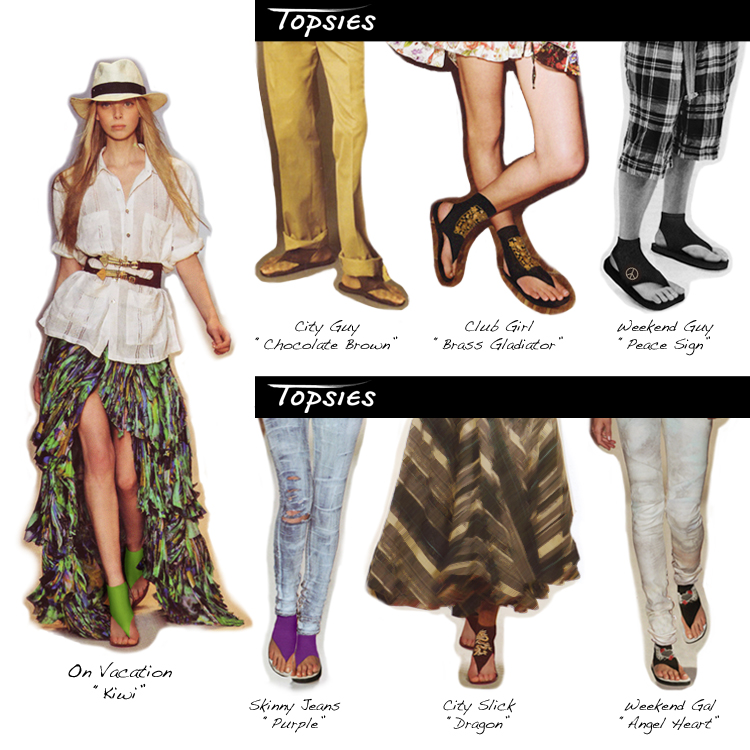 How To Wear Topsies - Topsies