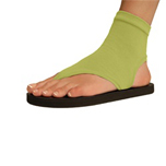 Topsies women's solid kiwi green