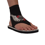 Angel Heart Flip Flops - Womens